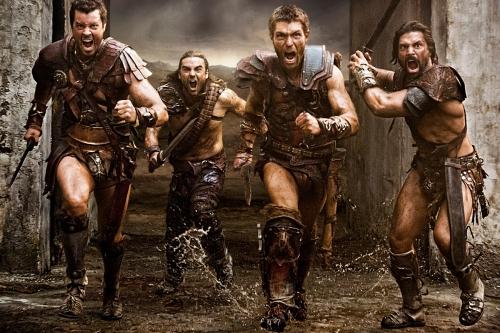 Dan-Feuerriegel-Agron-Dustin-Clare-Gannicus-Liam-McIntyre-SpartacusManu-Bennett-Crixus